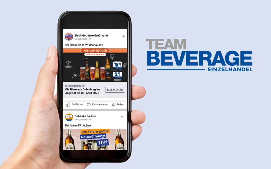 Case Study – Team Beverage als Initiator für effizientes Online-Marketing